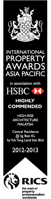 2012-2013-Award-Central-Residence-High-Rise-Architecture-Malaysia